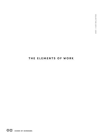 The elements of work | Lookbook 2019-2020