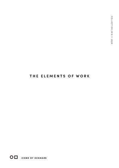 The elements of work | Mini Lookbook 2019-2020