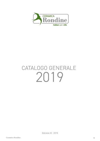 CATALOGO GENERALE 2019