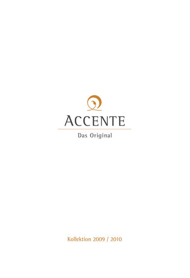 Accente Catalogue 2009-2010