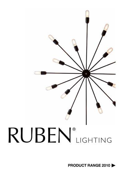 Ruben Product Range 2010