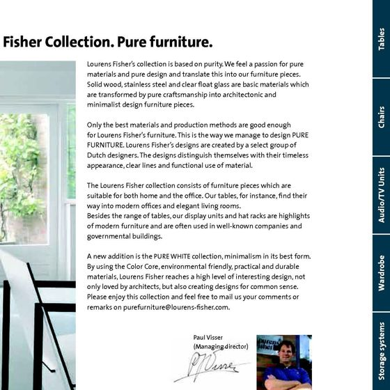 Lourens Fisher Catalogue 2010