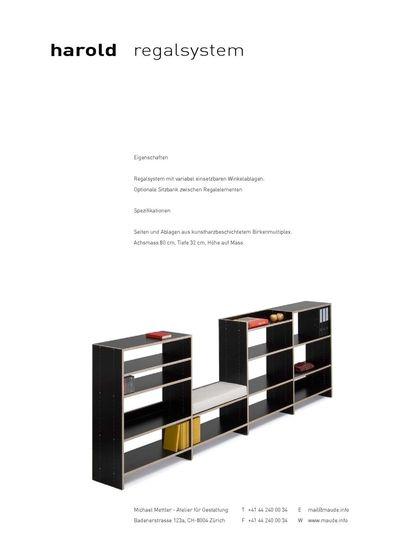 maude Brochure 2010