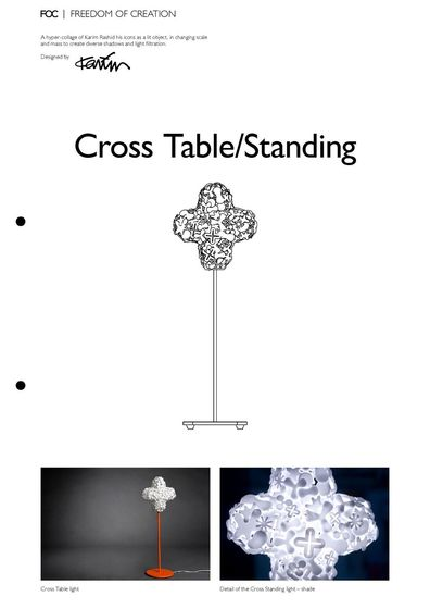 Cross Table/Standing