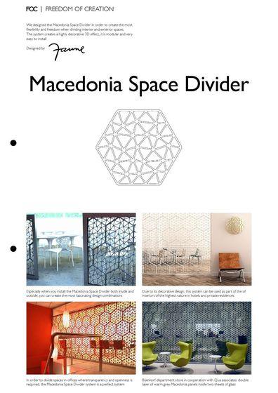 Macedonia Space Divider