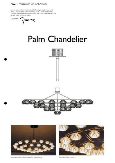 Palm Chandelier
