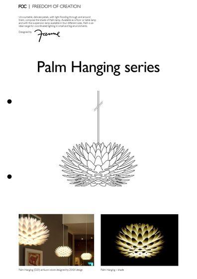 Palm Hanging series