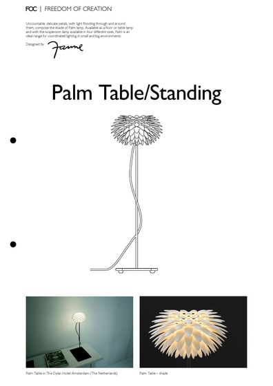 Palm Table/Standing