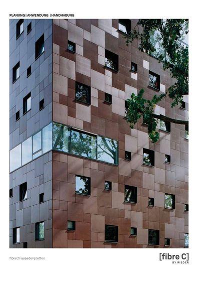 fibreC Planungshandbuch Fassade
