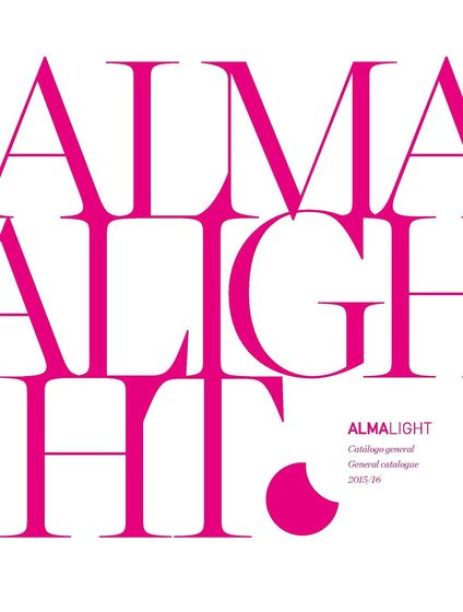 ALMA LIGHT - Catàlogo general  2013/2014