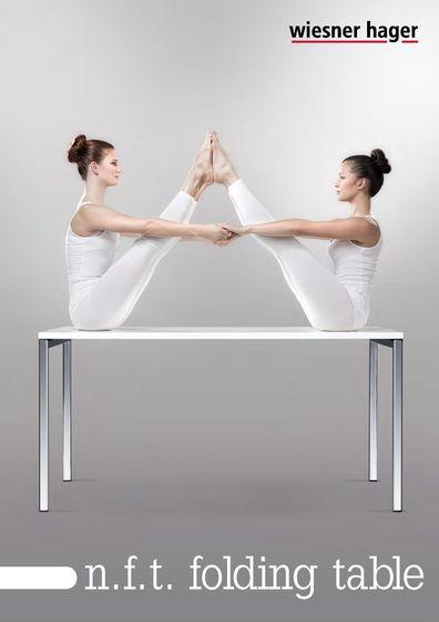 Wiesner-Hager n.f.t. folding table