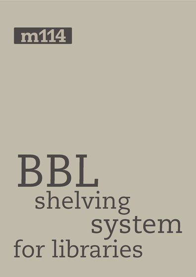 BBL shelving systems for libraries