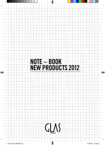 NOTE - BOOK NEW PRODUCTS 2012