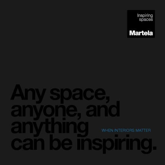 Martela Inspiring spaces