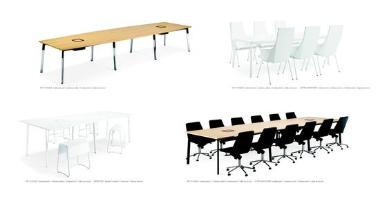 Materia Angle Conference Table