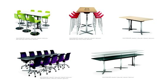 Materia Centrum Vario Conference Table