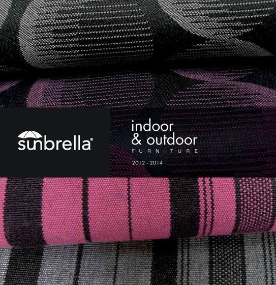 Sunbrella Indoor & Outdoor Furniture 2012-2014