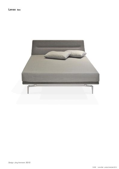 Piuric Lenao bed catalogue 2012