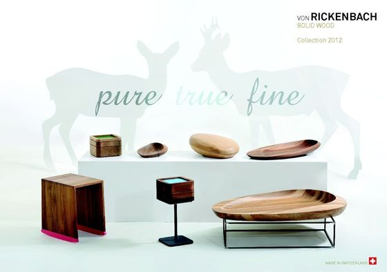 vonRickenbach SolidWood catalogue 2012