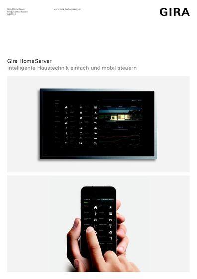Gira HomeServer