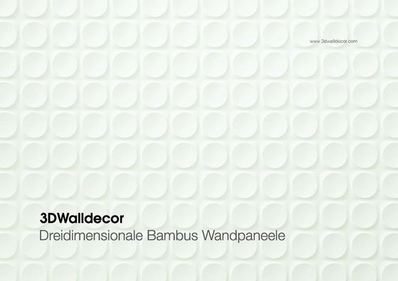 3DWalldecor - Dreidimensionale Bambus Wandpaneele