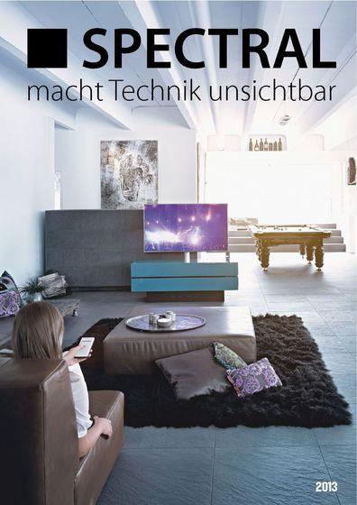 Spectral. macht Technik unsichtbar Katalog 2013