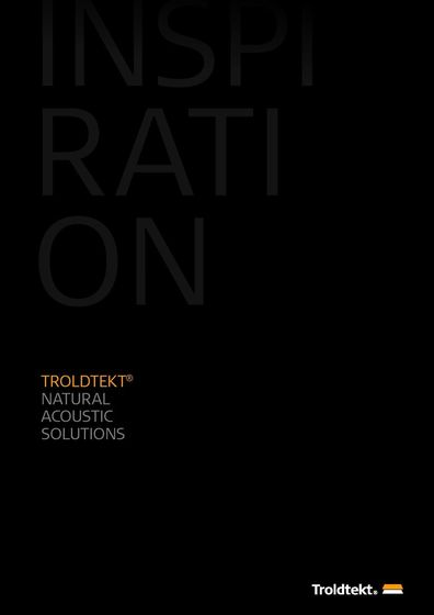 Inspiration - Troldtekt® Natural Acoustic SolutIons