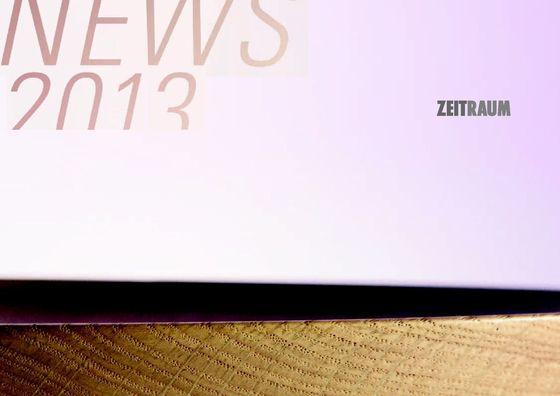 Zeitraum - News 2013