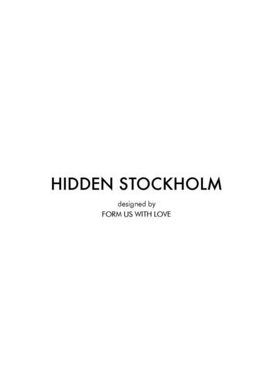 JoV - Hidden Stockholm  2013