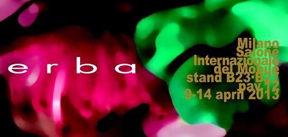 Erba Brochure Milano 2013