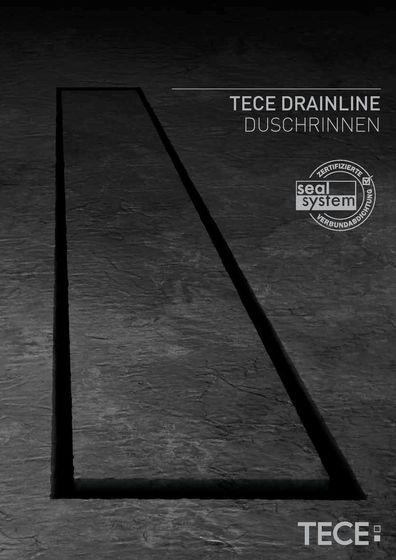 TECE DRAINLINE Duschrinnen