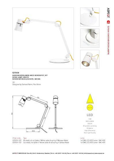 Aspeqt | Catalogue 2013