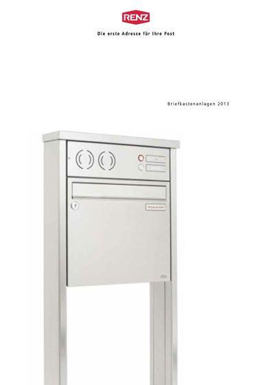 Renz Briefkastenanlagen 2013