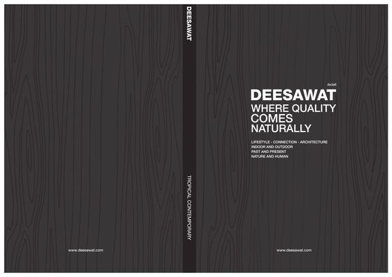 Deesawat Catalogue 2013