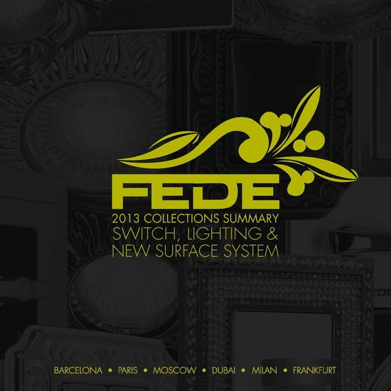 FEDE Summary Collections 2013 engl