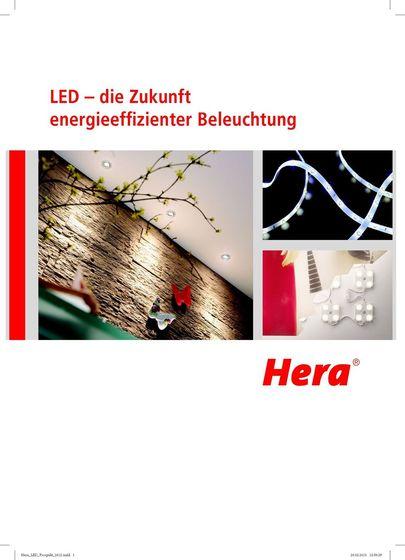 Hera - LED – die Zukunft energieeffizienter Beleuchtung