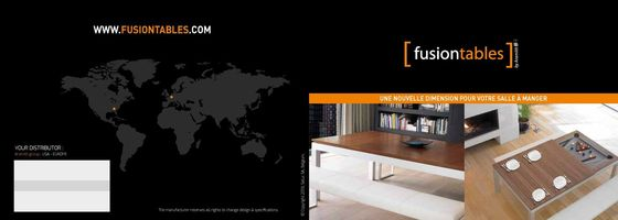 Fusiontables Catalogue 2013