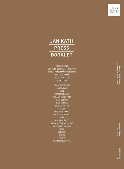 Jan Kath Press Booklet