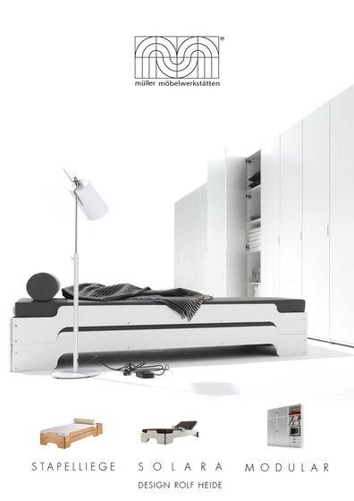 Müller Möbelwerkstätten Stacking Bed Solara Modular