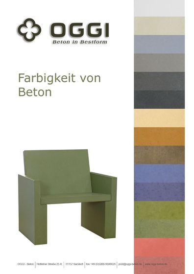 OGGI Beton - Farben
