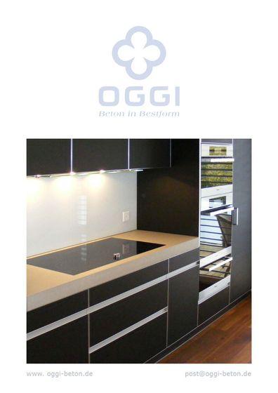 OGGI Beton - Küche I Referenzen