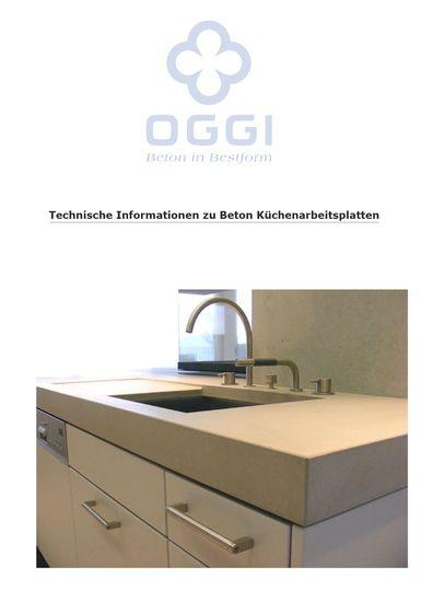 OGGI Beton - Küche I Technische Details
