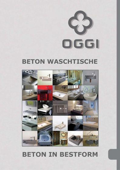 OGGI Beton - Waschtischkollektion