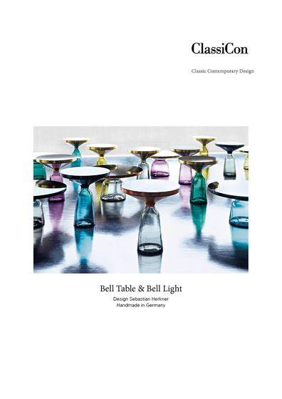 ClassiCon Bell Table & Bell Light | Sebastian Herkner