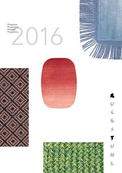 Ruckstuhl Programme 2016