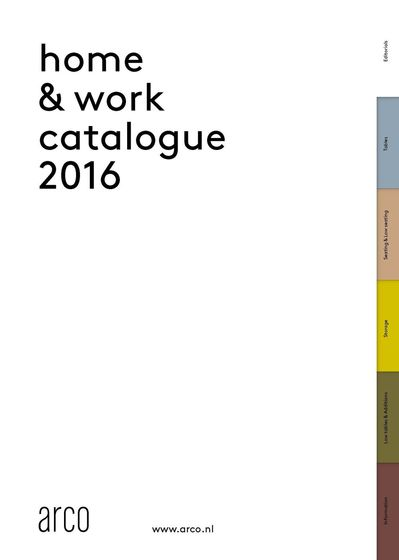 Arco Home & Work Catalogue 2016