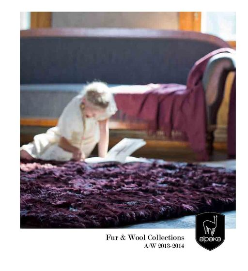 a-carpet - Fur & Wool Collections A/W 2013-2014