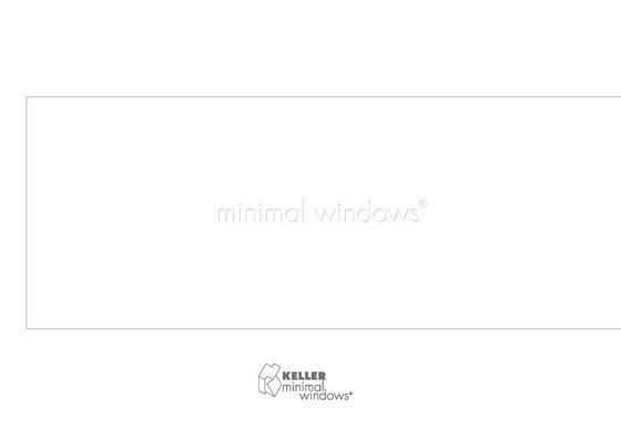 KELLER minimal windows®