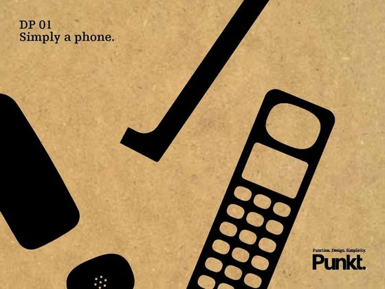 DP 01 - Simply a phone.