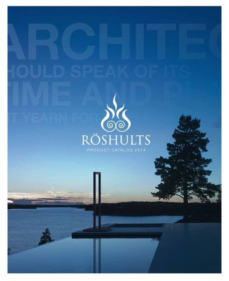 Röshults Catalogue 2014